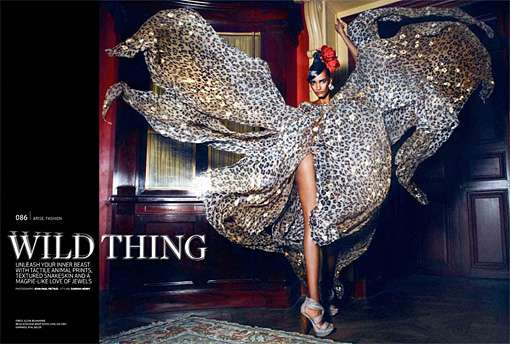 Gown-Whipping Editorials