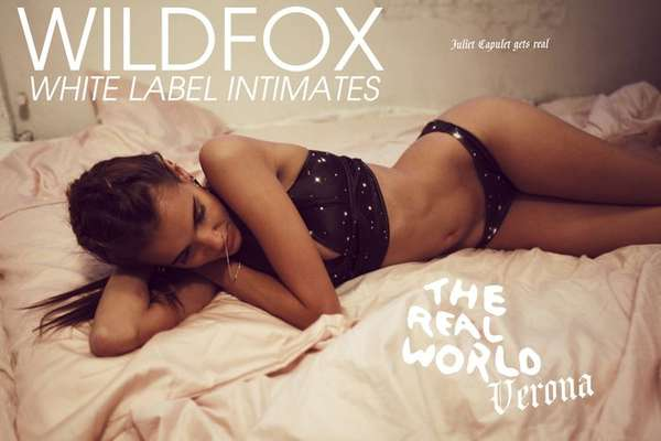 Wildfox White Label Intimates Fall 2012