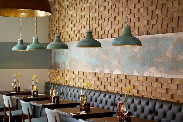 Rustic Metropolitan Kitchens