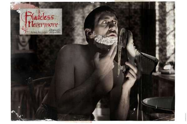 Shaving With Skates, Whiskers & Shears
