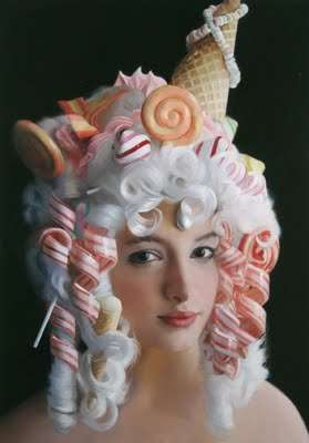 Candy Cane Headdresses