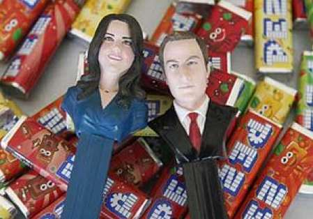 William and Kate Pez Dispensers