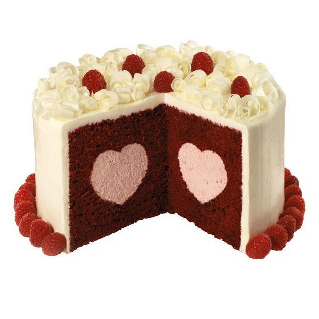 Surprising Sweetheart Cakes
