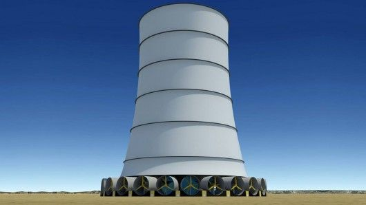 Self-Sustaining Wind Towers