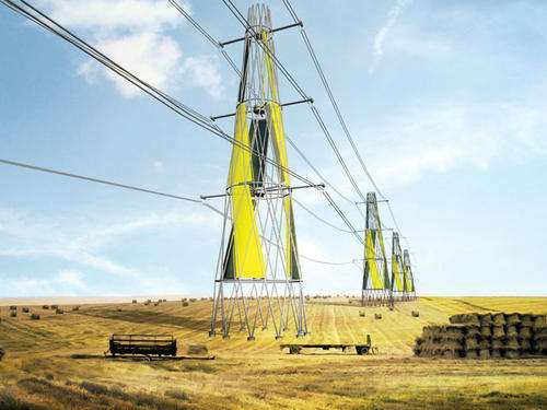Wind Turbine Electrical Towers