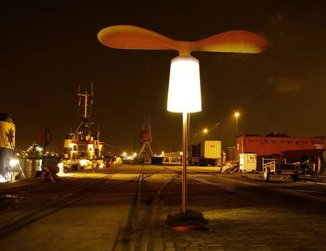 Wind Powered Outdoor Lighting