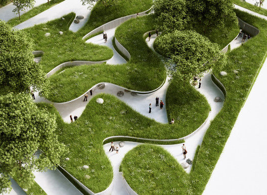 River-Inspired Landscapes