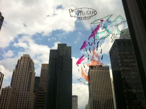 Imaginative Window Doodles