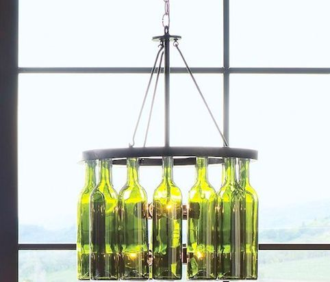 Upcycled Bottle Decorations