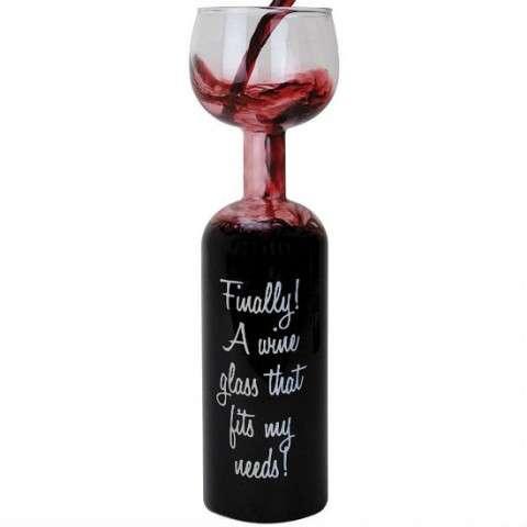 Infinite Wine Glasses