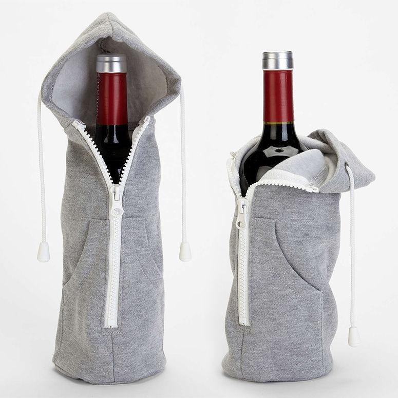 Hooded Wine Sleeves