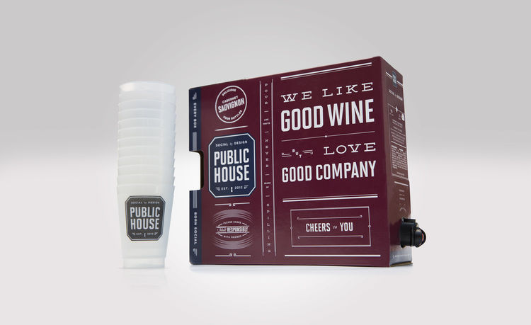 Shareable Boxed Wines