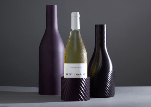 Warped Wine Bottle Covers