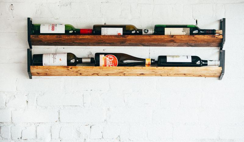 Rustic Wine Rack Accessories