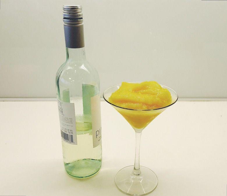Fruity Wine Slushies