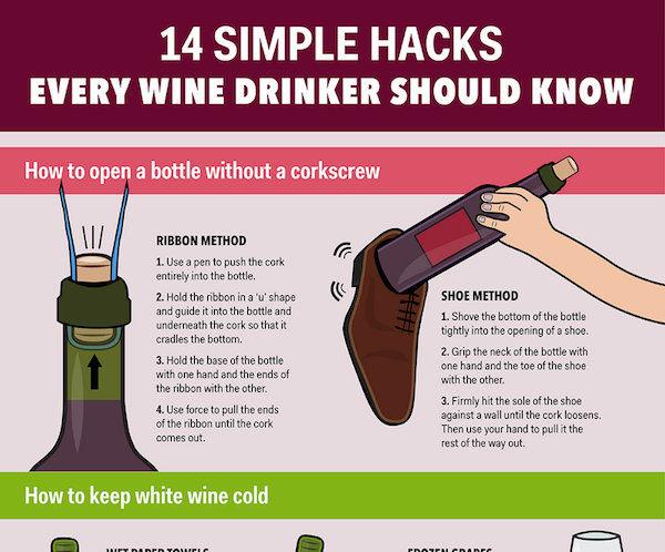 Wine Drinking Hacks