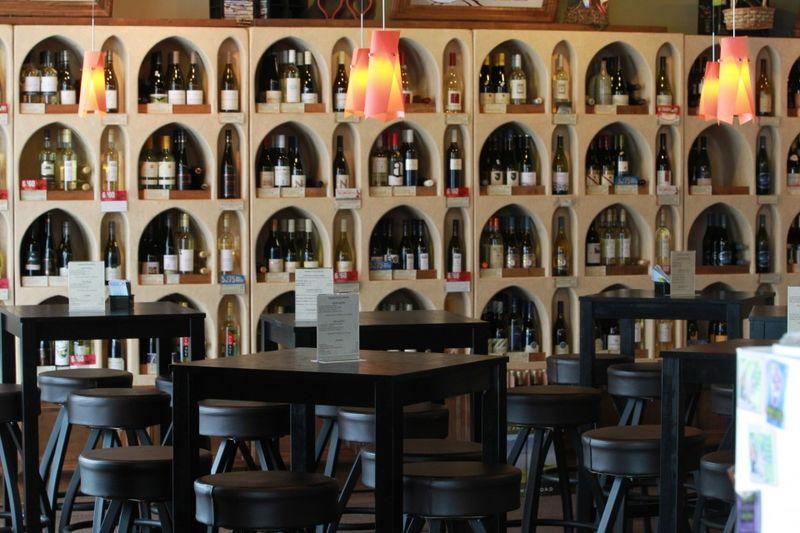 Wine Store Bars