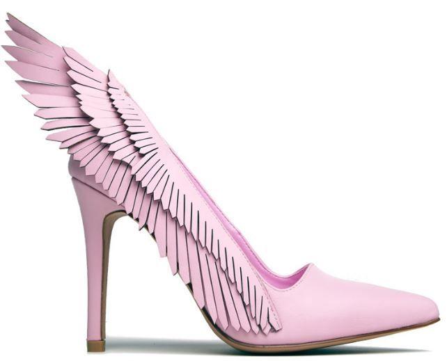 Winged Stiletto Heels