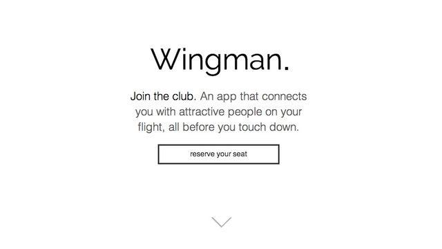 Flirtatious In-Flight Apps