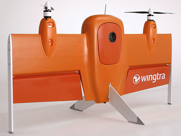 Fixed-Wing Camera Drones