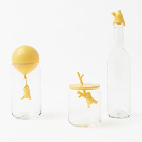 Beloved Bear Bottle Stoppers