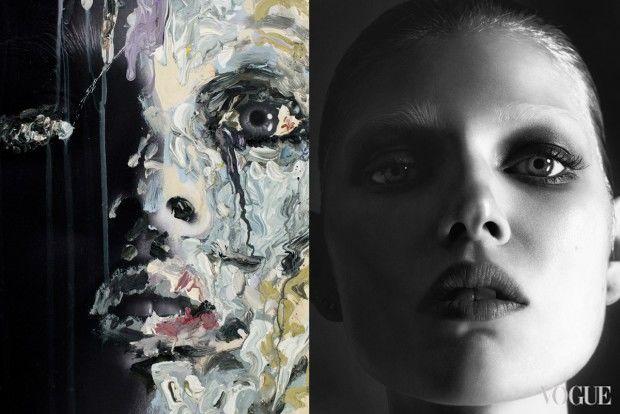 Painterly Beauty Editorials