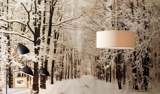 winter wall decal