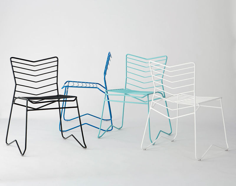 Stackable Wire Chairs