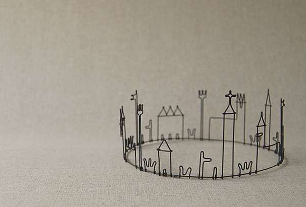 Wire Works by Masao Seki