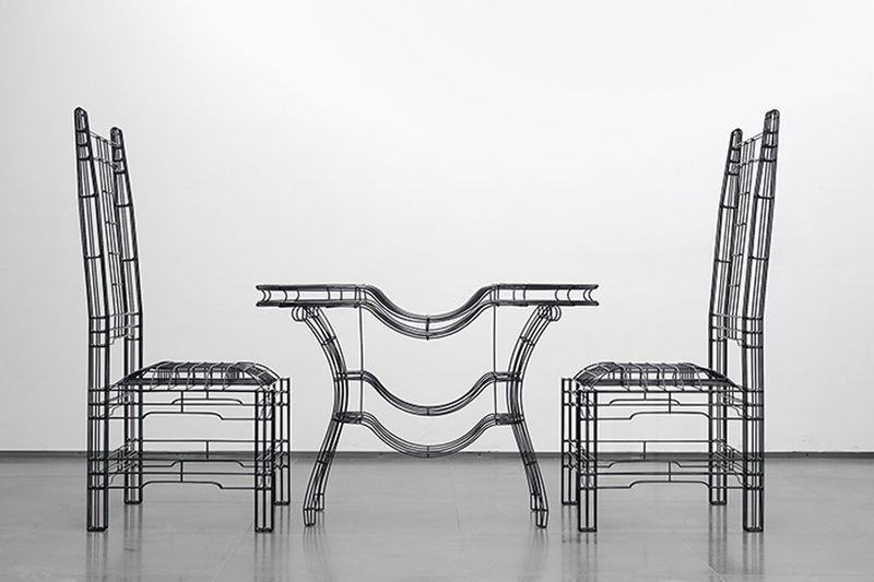 Steel Rod Furniture