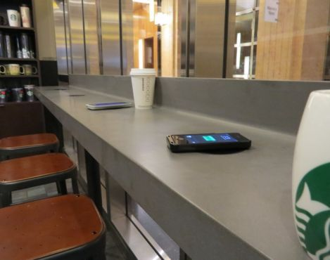 Coffee Chain Phone-Charging