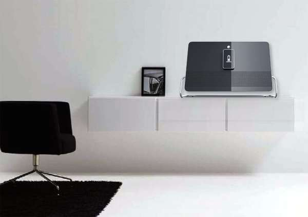 Floating iPod Stations