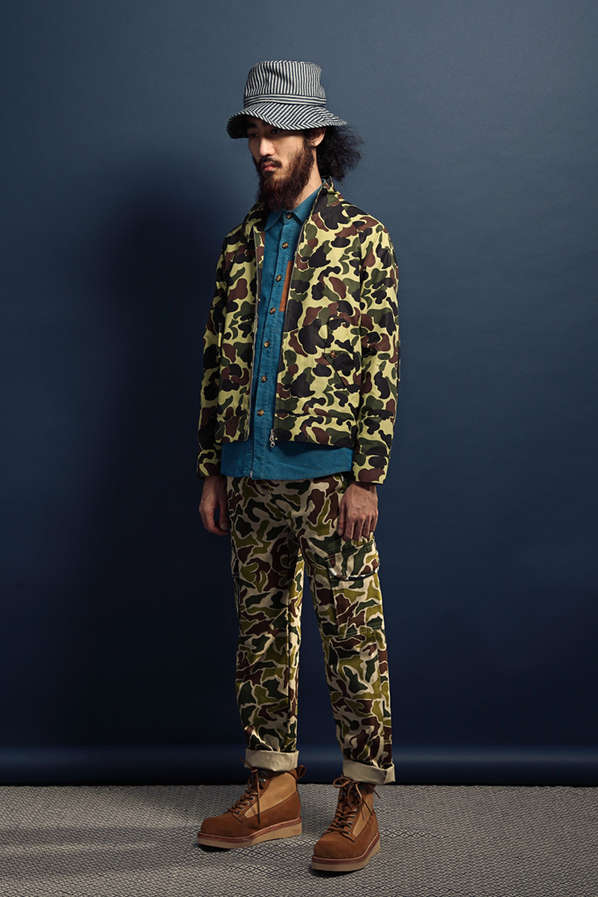 Urban Hipster Camouflage Couture