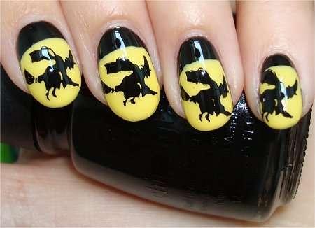 Spellbinding Halloween Manicures