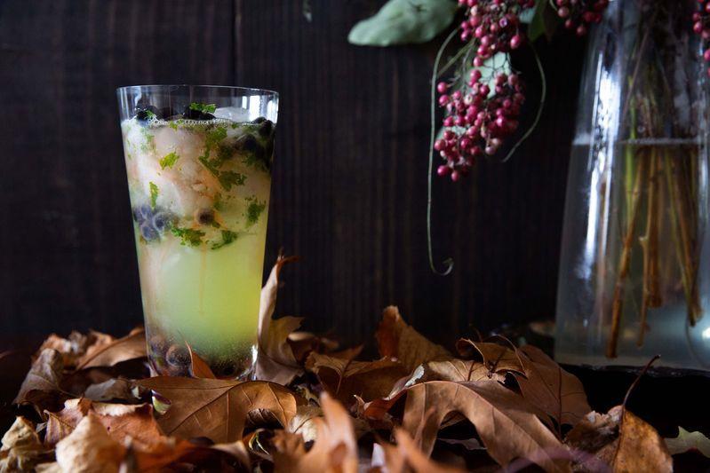 Slimy Halloween Cocktails