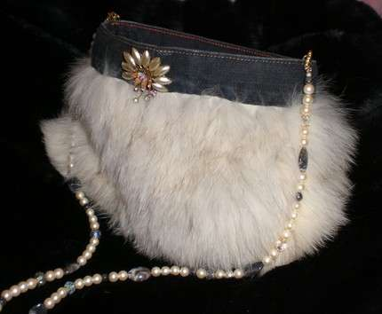 Retro Fur Purses