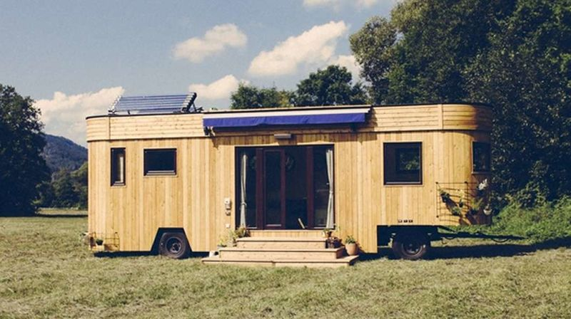 Self Sufficient Trailer Homes Wohnwagon
