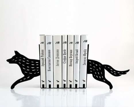 Wild Animalistic Book Stands