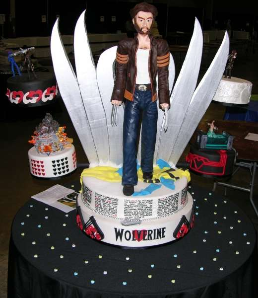 Epic X Men Confections Wolverine Cake