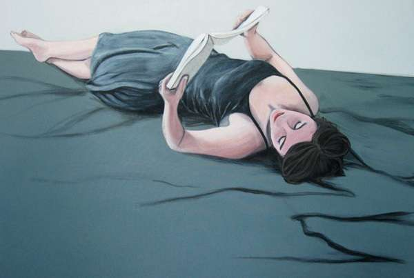 Preoccupied Female Paintings