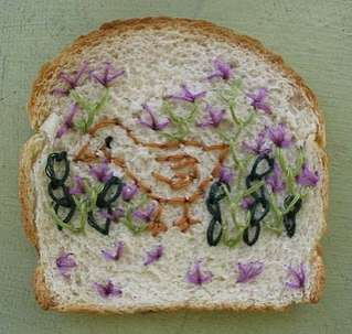 Wonder Bread Embroidery