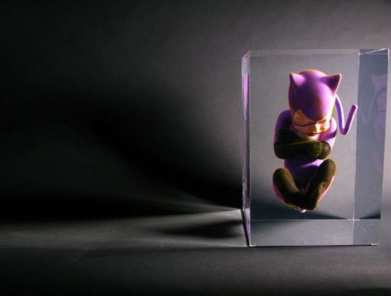 Baby Superhero Sculptures