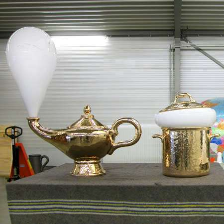 Hand-Blown Genie Lamps