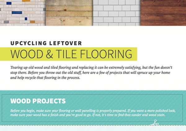 Repurposed Flooring Material Guides