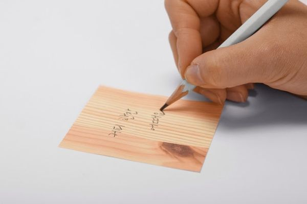 Faux Timber Post-Its