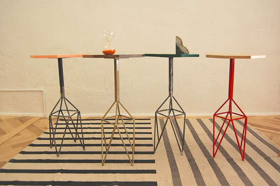 Technicolor Geometric Tables