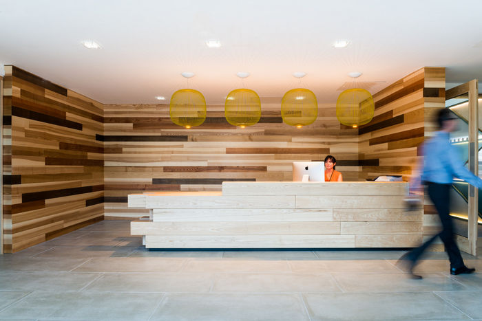 Rustic Wooden Offices woodclad