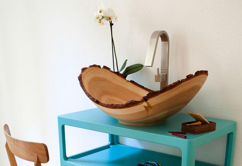Organic Wooden Basins