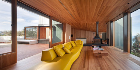 Timber-Lined Ocean Residences