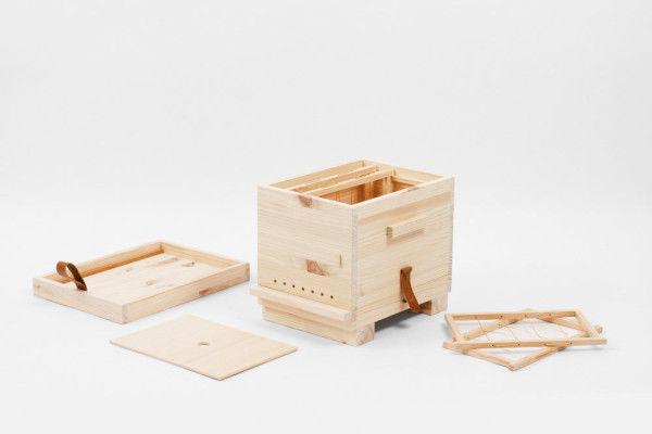 DIY Wooden Beehives